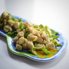 Garlic Jalapeno Chicken Saute
