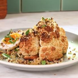 Roast Cauliflower&Quinoa Breadcrumb
