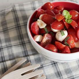 Tomato Salad, Bocconcini & Basil