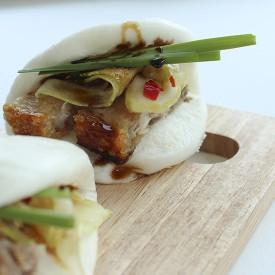 Pork Buns (Gua Bao) with Crisp Pork