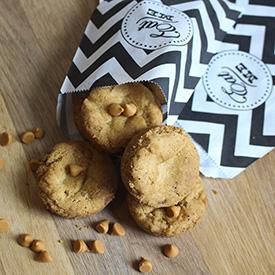 Butterscotch Muffin Pan Cookies