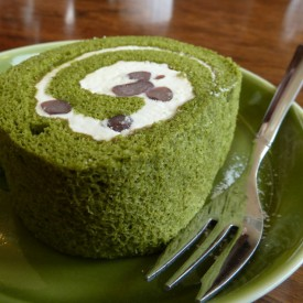 Healthy Green Tea Cake