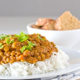 Vegan Lentil Curry (Gluten-free)