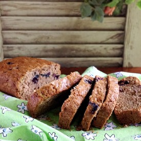 Blueberry-Zucchini Bread