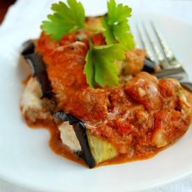 Eggplant Cannelloni (Grain Free)