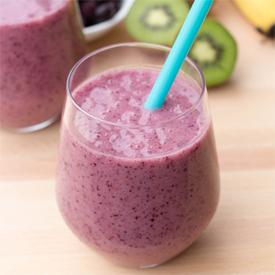 Healthy Purple Smoothie