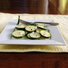Zucchini Coins with Parmesan