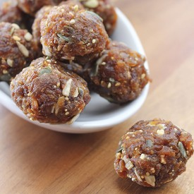 Apricot and Peanut Butter Balls