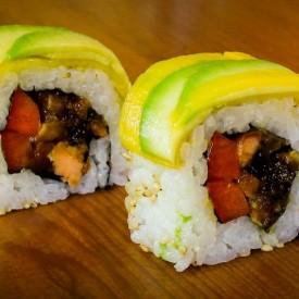 Mango Avocado Sushi Roll Recipe