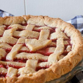 Red Berry Custard Pie