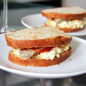 Sausage & Egg Mayo Sandwich