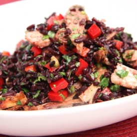 Turkey and Black Rice Salad Recipe