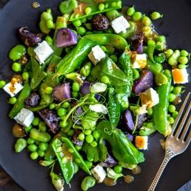 Pea and Fava Bean Salad