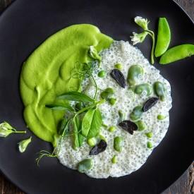 Tapioca with Peas