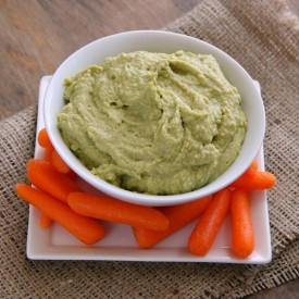 Vegan Avocado Hummus Dip