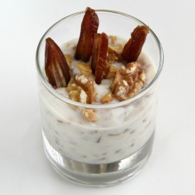 Goat Yogurt with Dates and Lemon