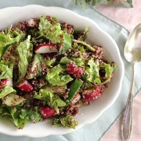 Quinoa, Cucumber and Radish Salad