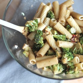 Broccoli Walnut Pasta Salad