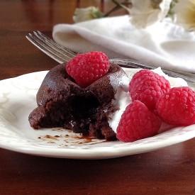 Warm Molten Chocolate Cakes