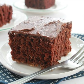 The Easiet Chocolate Cake Ever