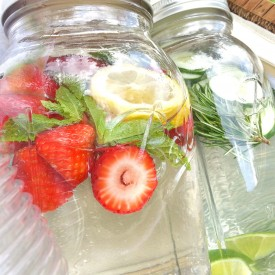 All Natural Flavored Water Recipes