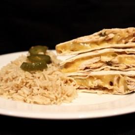 Chicken and Jalapeno Quesadillas