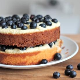 Fresh Blueberry Vanilla Cake