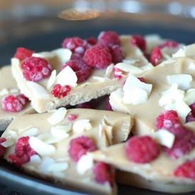 Raw Vegan Raspberry and White Choco