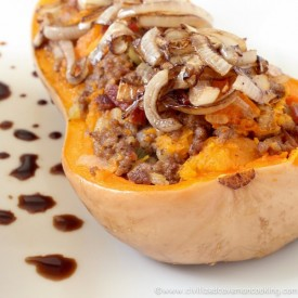 Bacon Beef Butternut Squash