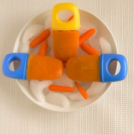 Carrot Smoothie Popsicles