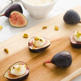 Fig Bites with Honey Sherry Glaze