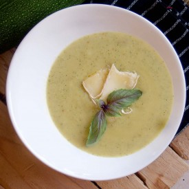 Courgette and Brie Soup