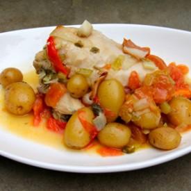 Basque Chicken Stew