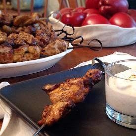 Chicken Thigh Kebabs