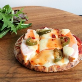 Chicken Pita Bread Pizza