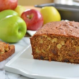 Apple and Oat Bran Bread