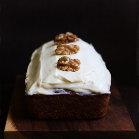 Carrot Loaf with Cream Cheese Frost