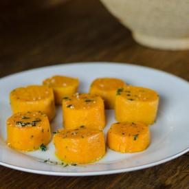 Thick Scalloped Sweet Potatoes