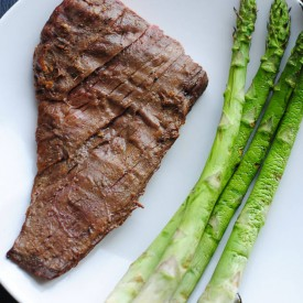 Marinated Grilled Tender Flank Stea