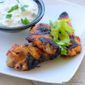 Sweet Spicy Wings & Bleu Cheese Dip