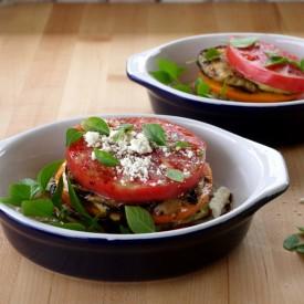 Heirloom Tomato & Grilled Eggplant