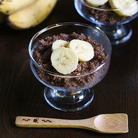 Chocolate Quinoa Pudding