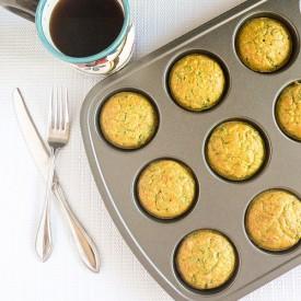 Spinach Almond Amaranth Breakfast Muffin