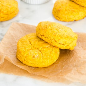 Tender Buttery Sweet Potato Biscuit