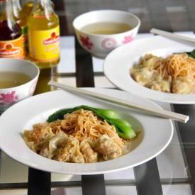 Pork & Chestnut Dumplings (Wontons)