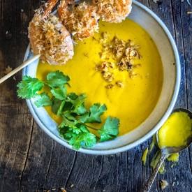 Carrot + Lemongrass + Ginger Soup