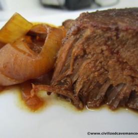 Crock Pot Balsamic Roast