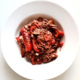 Cajun Pork Saute with Peppers
