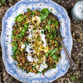 Ancient Grains Salad — Freekeh