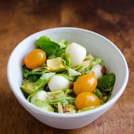 Easy Quail Egg Salad